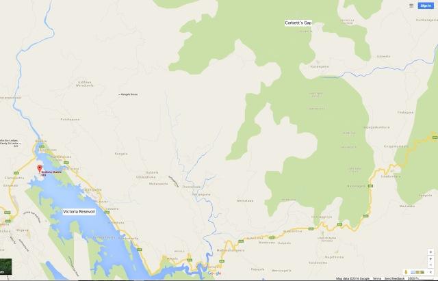 Corbett's Gap To Oruthota Chalets