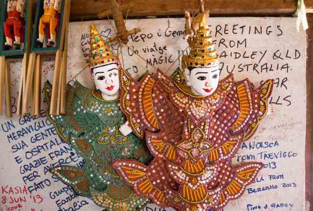 Pindaya puppets for sale