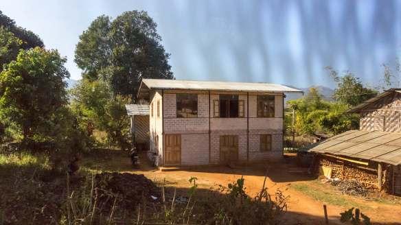Shan farmhouse south of Pindaya