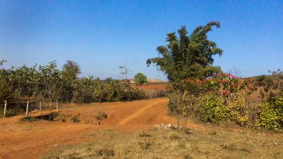 the red earth of western Shan State