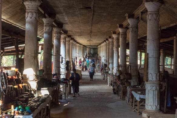 In Thein covered walkway from Temple