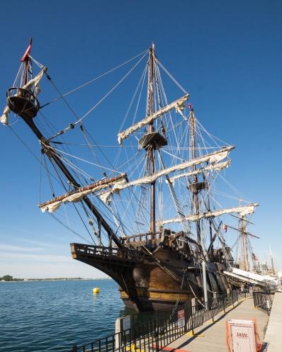 El Galeón - a full scale reprodution of a 16th C Spanish galleon