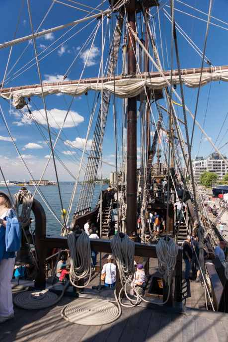 El Galeon deck view