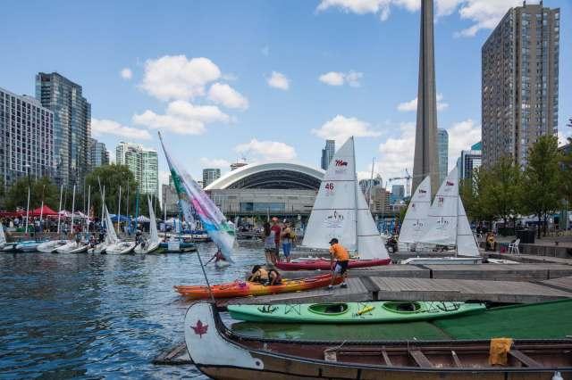rental water craft on Toronto waterfront
