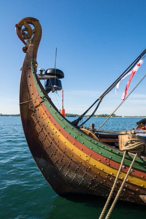 the Draken Harald Härfagre - the back end