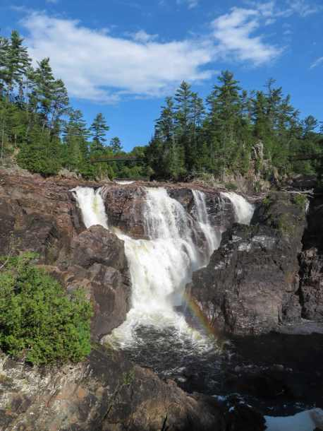 another view of the Coulonge Falls