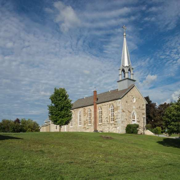 Portage du Fort's Catholic Church - St. James the Greater