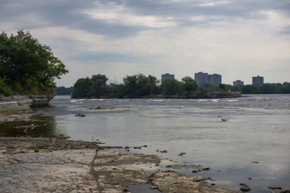 the Deschenes Rapids - and the suburbs of Ottawa!