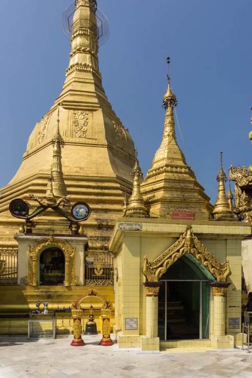 the Sula Paya stupa - most of it!