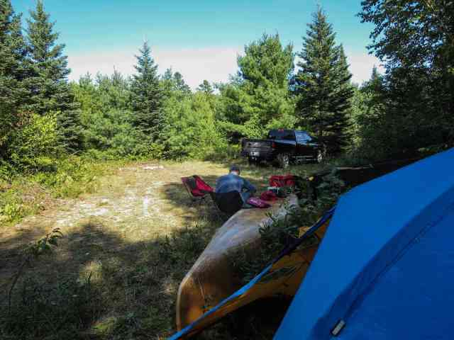Day 6 Campsite at Km 94-