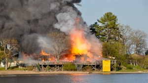 image taken from CBC news article on the fire