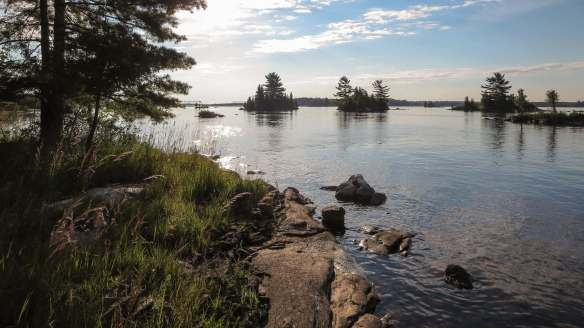 Ottawa River Islands in the Baie de Chat