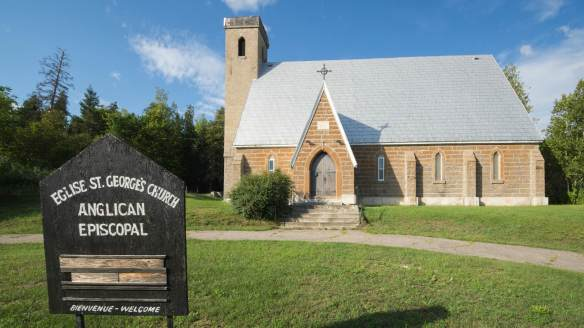 Portage du Fort's Anglican Church - St. George's
