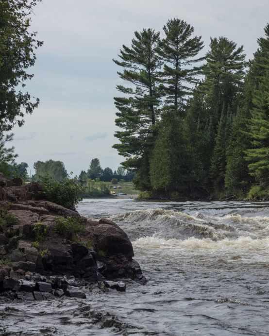 the McKay Rapids - top end