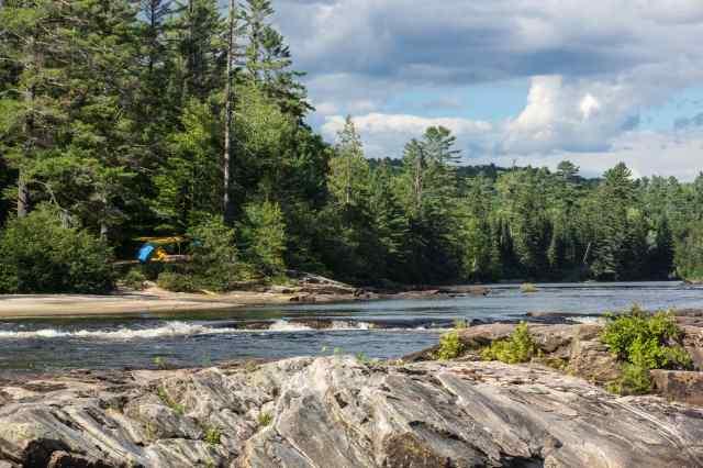 Chute A L'Ours campsite