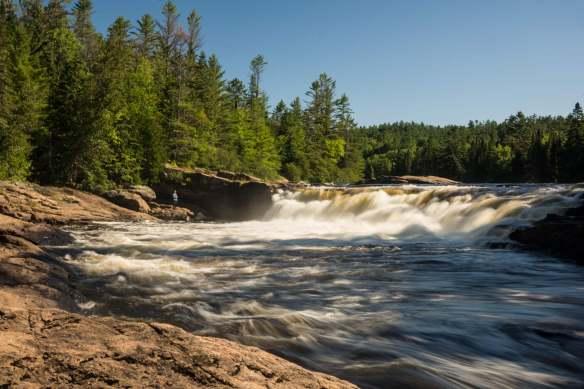 Gallinote Rapids - first falls
