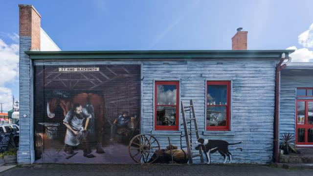 Sheffield mural - The Blacksmith Shop