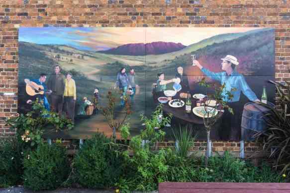 Sheffield Tasmania mural -