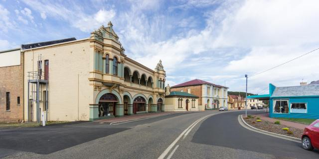 Zeehan's architecture heritage buildings on Main Street