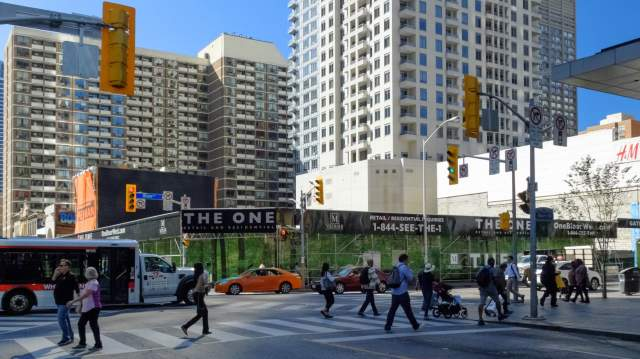 Bye, Bye Stollery's - the SW corner of Yonge at Bloor