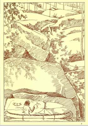 dewdney-sketch-from-stone-age-painting-1965