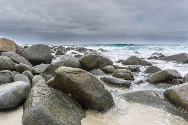East coast Tasmania - beach scene