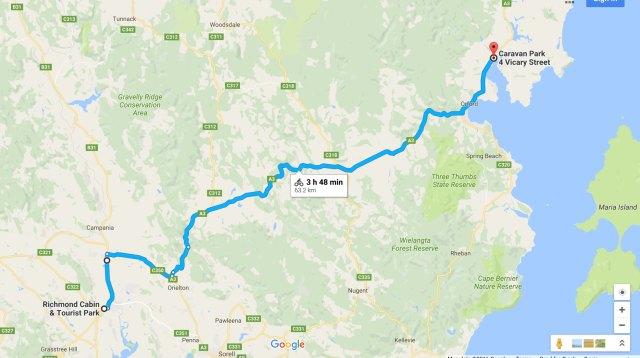 richmond-triabunna-google-map