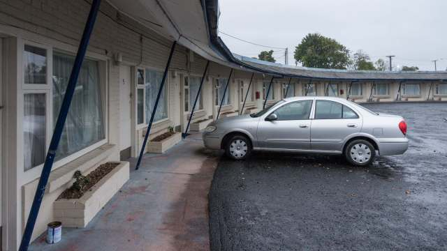 St. Helens Bayside Inn - the original motel structure
