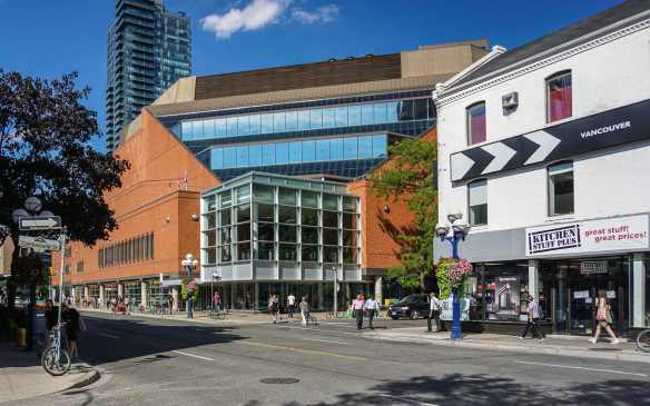 the Toronto Reference Library on Yonge