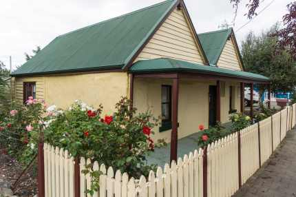 Triabunna cottage on Main Street