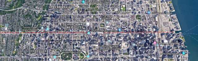 Yongs Street - satellite view
