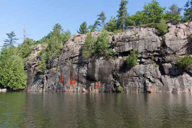 collins-inlet-stretch-of-rock-with-pictographs
