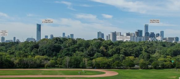 Riverdale view of downtown Toronto - from Bloor To Dundas