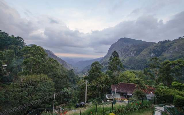 the view of the Gap from the gardens of the Ella Grand Spa and Resprt