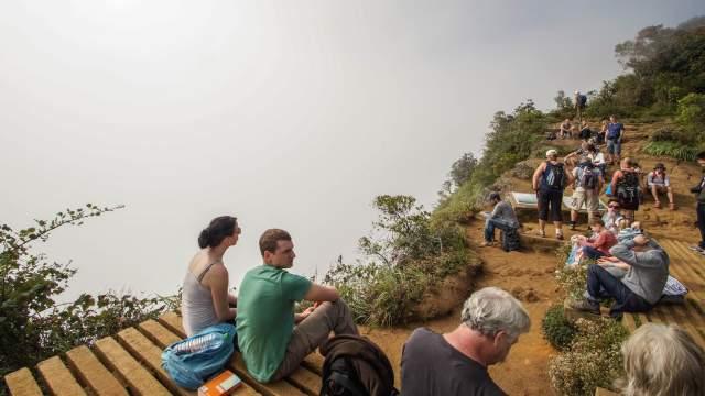 World's End view - Horton Plains