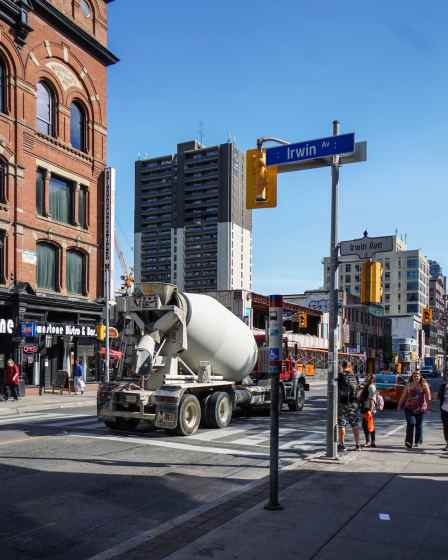 Yonge Street as construction site!