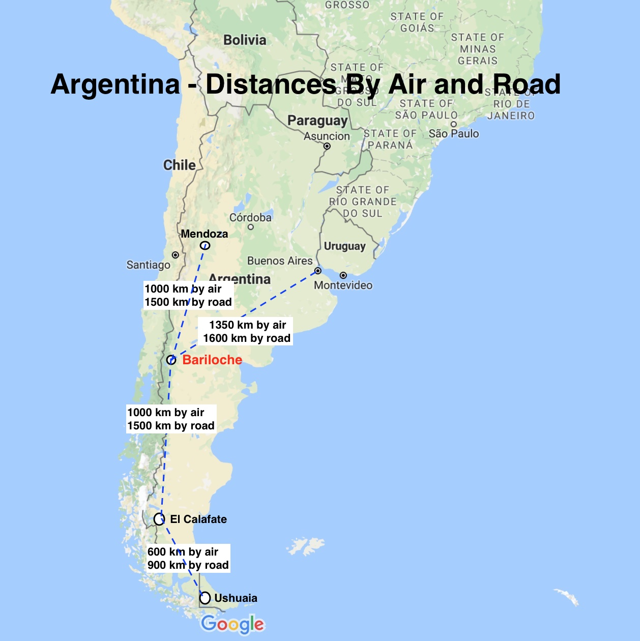Bariloche Argentina Map Bariloche – Argentina's Outdoor Playground Capital | Ramblin' Boy