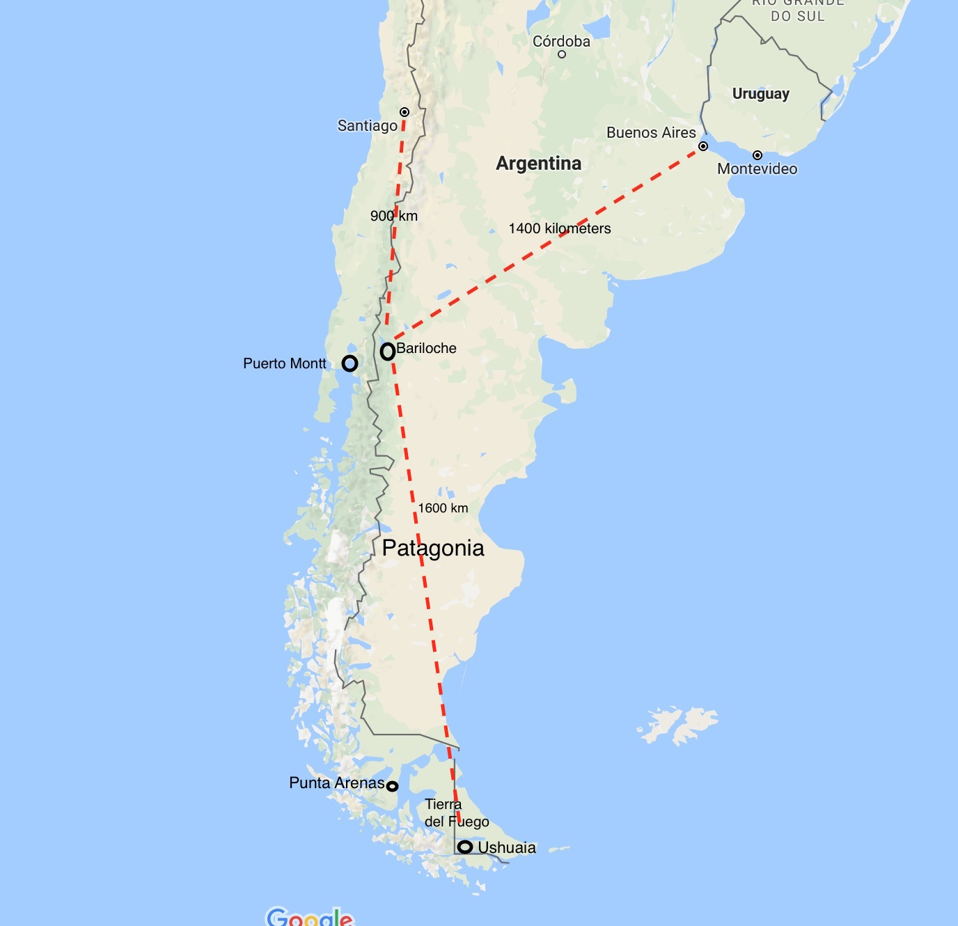 Bariloche Argentina Map Base Camp Bariloche & The Hiking Trails of Northern Patagonia