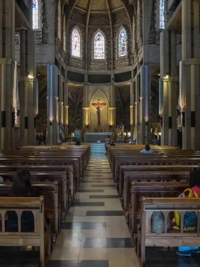 Bariloche catedral interior