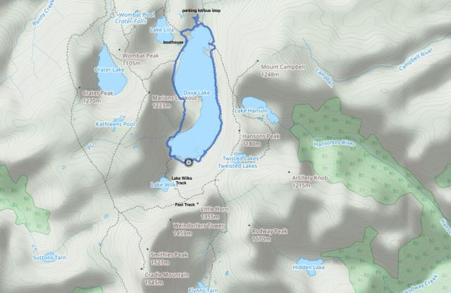 map-fo-trails-to-cradle-mountain-summit