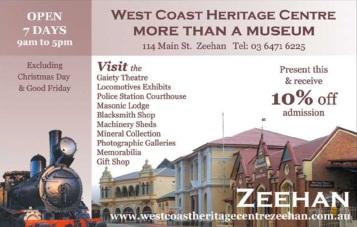 Zeehan - West Coast Heritge Centre