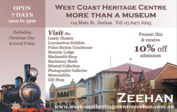 Zeehan - West Coast Heritge Centre