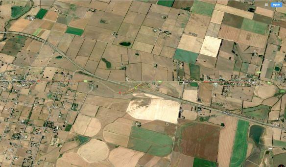 b54-crosses-a1-bass-highway-near-hagley