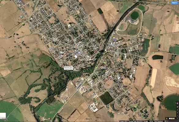 deloraine-tasmania-satellite-view