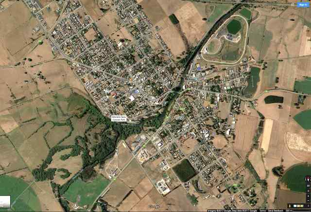 deloraine-tasmania-satellite-view