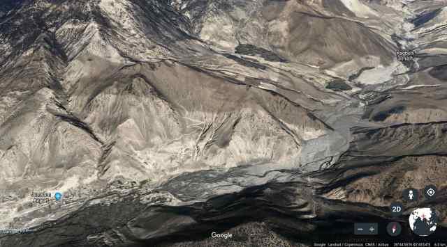 Jomsom to Kagbeni - the Kali Gandaki valley
