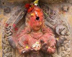 Bhaktapur - Shiva figure