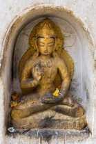 Buddha figure - Swayambhunath stupa