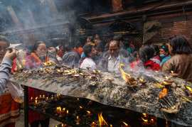 Lalitpur - full moon puja ceremony