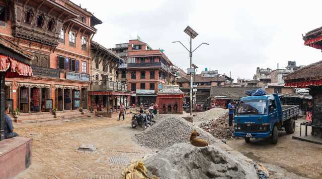 Potters' Square Bhaktapur May 2018
